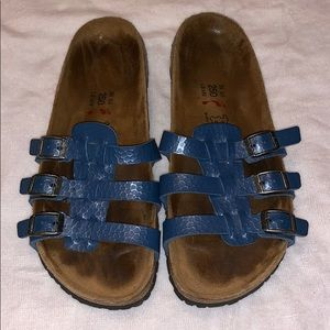 Birki's By Birkenstock's Blue Sandals Sz 39 L8 M6